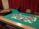 ルーレットのゲーミングテーブル(イメージ)—本紙撮影