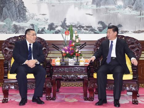習近平国家主席「マカオの発展、一国二制度実践の成果」=北京訪問中の崔世安マカオ行政長官と会談