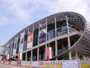 年に2回開催される中国最大規模のトレードショー「広州交易会」や、広州モーターショーなどの会場となる中国進出口商品交易会琶洲展館(資料写真)=中国・広州—本紙撮影