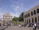 マカオを代表する観光名所の1つ、世界遺産・聖ポール天主堂跡(資料)—本紙撮影