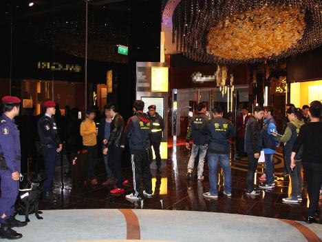 不法滞在の中国人、韓国系米国人らを検挙=マカオ警察、夜の街で浄化作戦を実施