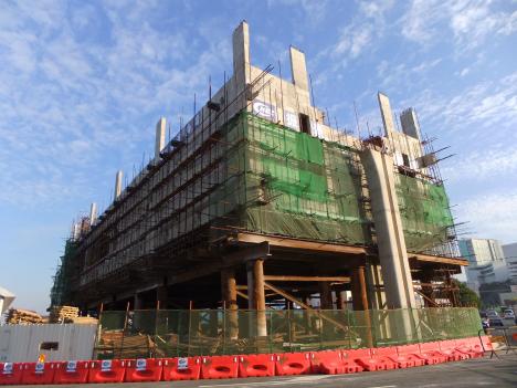 マカオ新交通システム、駅舎部の工事が本格スタート=タイパ線、2016年開業予定