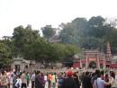 大勢の観光客で賑わうマカオを代表する世界遺産の1つ、媽閣廟(イメージ)—本紙撮影