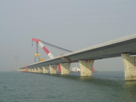 香港とマカオ結ぶ夢の架け橋、今年8月結合へ=開通時期は17年夏メド
