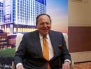 ラスベガスサンズグループのシェルドン・アデルソン会長(資料)=2012年マカオにて撮影―本紙撮影