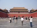 故宮博物院の正面入口にあたる「午門」(資料)=中国・北京—本紙撮影