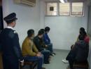 マカオ税関に身柄を拘束された中国本土出身の不法滞在者=1月21日(写真:澳門海關)