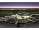 三菱商事と千代田化工建設のJVが建設工事を受注した新ウランバートル国際空港の完成予想イメージ(写真:三菱商事)