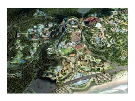 中国・珠海で世界最大のサファリパーク着工=マカオに隣接の横琴新区