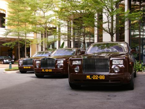 超高級車があふれるマカオ=人口60万人の街にロールス・ロイスなど1000台超