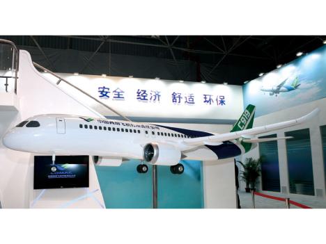 中国の国産大型ジェット機「C919」年内初飛行へ=中国4大航空会社など採用予定