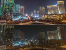 大型カジノIR(統合型リゾート)施設が建ち並ぶマカオ・コタイ地区。3月28日夜、環境キャンペーン「アースアワー」で1時間に渡って電気が消された(資料)(写真:GCS)
