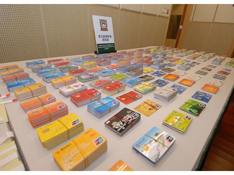 マカオ警察、マネロン容疑で中国人6人逮捕=他人名義のキャッシュカード2千枚押収