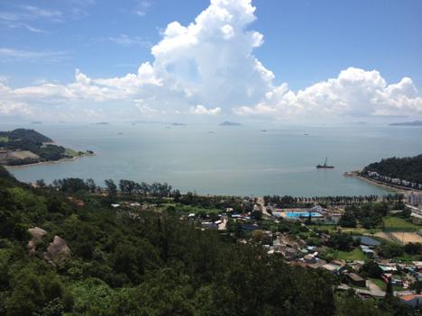 中国沿海の海面上昇、世界平均上回るペース