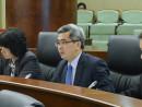 黄少澤マカオ保安庁長官=4月10日、マカオ立法会(写真:GCS)