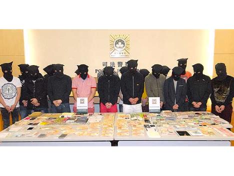 マカオ警察当局、違法売春事件で保釈中の男ら韓国人4人逮捕=口封じ目的で通訳を暴行、監禁した疑い
