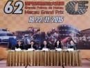 マカオグランプリ委員会、第62回(2015年)大会で「FIA(国際自動車連盟)GTワールドカップ」世界初開催を発表=4月22日、マカオ(写真:GCS)