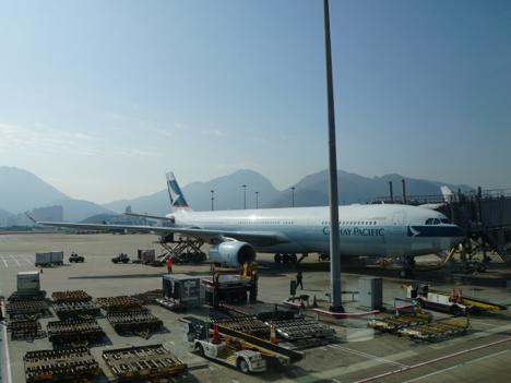 香港発券分航空券、燃油サーチャージ7ヶ月連続値下げ=4月、日本線は片道約740円に