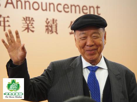 ギャラクシーエンターテイメントグループの呂志和会長(資料)ー本紙撮影