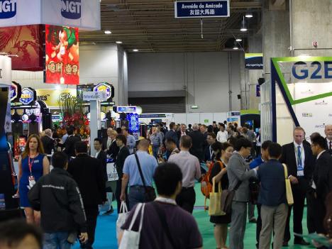 アジア最大のカジノ見本市、G2Eアジア2015開幕、日本勢存在感=マカオ