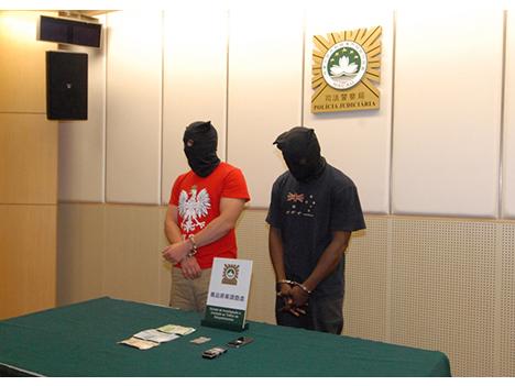 フェイスブック使い堂々と麻薬販売、マカオ警察が外国籍の男2人を逮捕