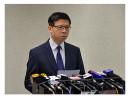 MERS感染疑いの韓国人が香港経由で中国本土へ渡航した事案について記者会見を行う梁挺雄香港衛生防護センター総監=5月28日(写真:news.gov.hk)