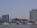 金門島の対岸にある中国福建省アモイ市(資料)=2009年—本紙撮影