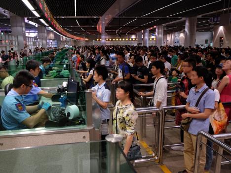 中国版GW期間中の訪マカオ旅客数16.3%増の50万人超