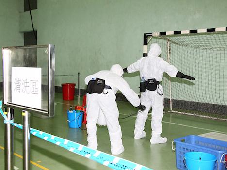 マカオ警察、MERS流入及び拡散阻止へ防疫対策演習実施=韓国からの年間訪マカオ旅客数55万人