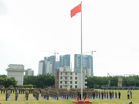 中国人民解放軍、香港・マカオ青少年向け軍事キャンプ開催=毎夏恒例の愛国教育イベント