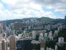 香港島の市街地にあるハッピーバレー競馬場(資料)—本紙撮影