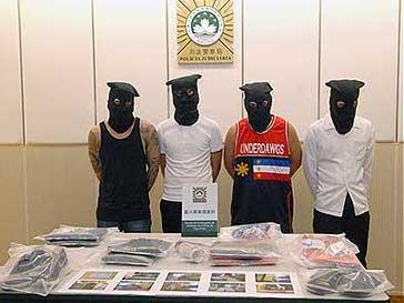 マカオの文化財にスプレーで落書き、フィリピン人の男5人逮捕=修復費用は政府負担