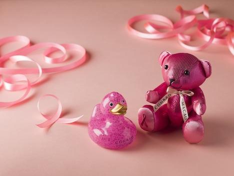 コンラッドマカオ、乳がん啓発活動「ピンク革命」をサポート