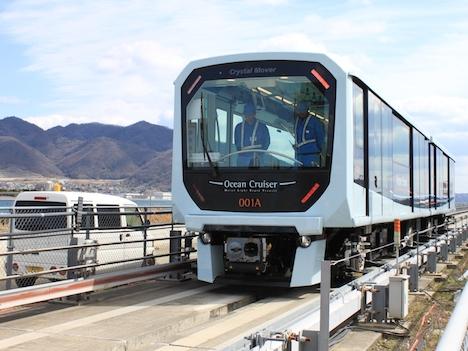 日本製の鉄道車輌、輸出待ち状態続く=マカオ新交通システム工事遅延、車輌基地完成のメド立たず