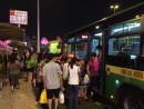 マカオの路線バス(資料)=プラサ・フェレイラ・アマラル・バスターミナルにて本紙撮影