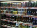 マカオのスーパーのビールコーナー(資料)—本紙撮影