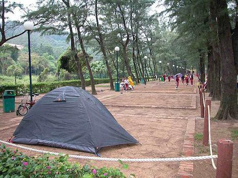 マカオ、公営キャンプ場が人気=1晩たった75円、観光客らホテル代節約目的で利用か