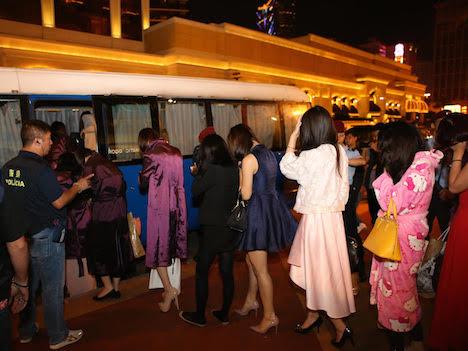 マカオ警察、ナイトクラブで不法就労の韓国人女子らを検挙=夜の歓楽街で一斉取り締まり