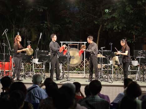 マカオチャイニーズオーケストラ「レゾナンス・オブ・ドラムス」