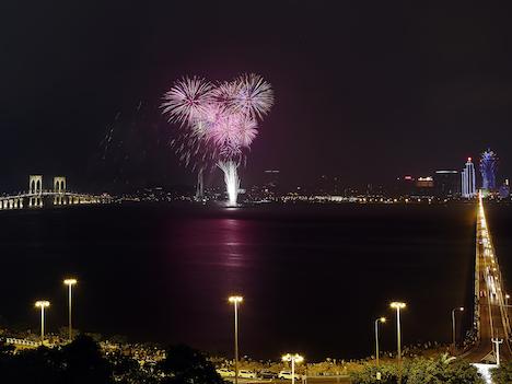 国慶節連休の訪マカオ旅客数107万人、前年同期比2.73%増