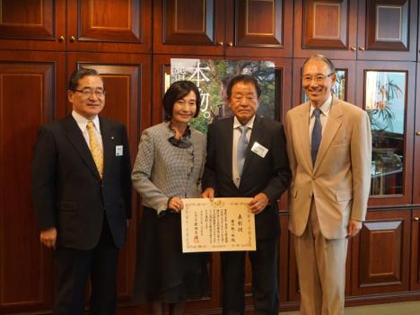 香港在住の溝口鐵一郎氏が平成27年度外務大臣表彰受賞=現地で表彰伝達式開催