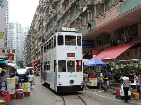 香港当局、路面電車の一部区間廃止案を否決=地下鉄とルート重複も存在価値認める