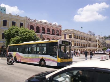 マカオの路線バスに無料公衆無線LANサービス導入