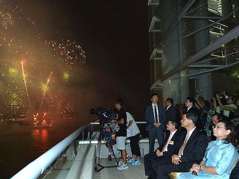 香港の国慶節花火大会後、PM2.5など有害物質濃度急上昇=無風下での実施が原因か