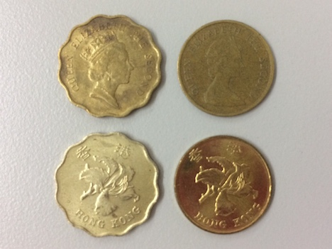 香港、回収進むエリザベス女王の肖像入り硬貨=消えゆく英国統治時代の名残