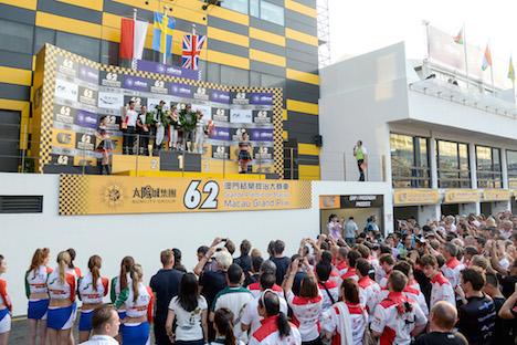 第62回マカオGP閉幕、F3優勝は2年連続ロゼンクビスト=日本人選手も健闘