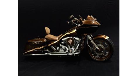 展示コレクション(ハーレーダビッドソン)の一例(写真:Street Steel Heavy Metal Bike Gallery Macau)