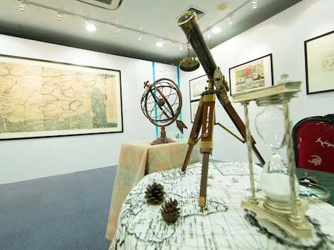 「世界地図の中のマカオ」古地図展