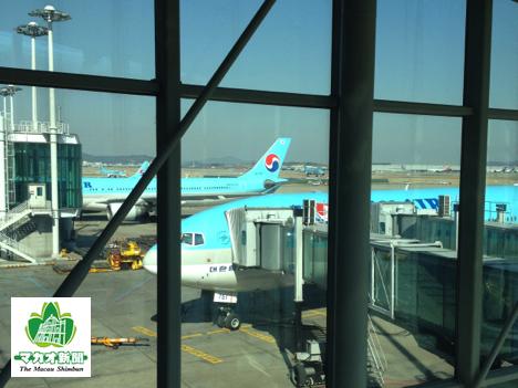 韓国・仁川国際空港(資料)—本紙撮影
