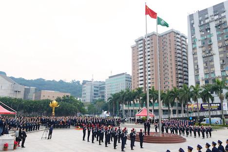 マカオ返還記念日、中国復帰16周年=過度なカジノ依存からの脱却目指す